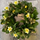 Thumbnail: Spring Daffodil Wreath/Table Centre Piece