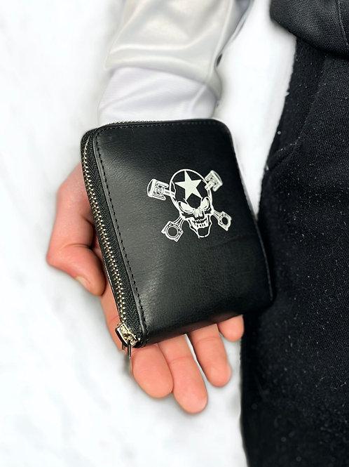 Porte monnaie SPM en cuir
