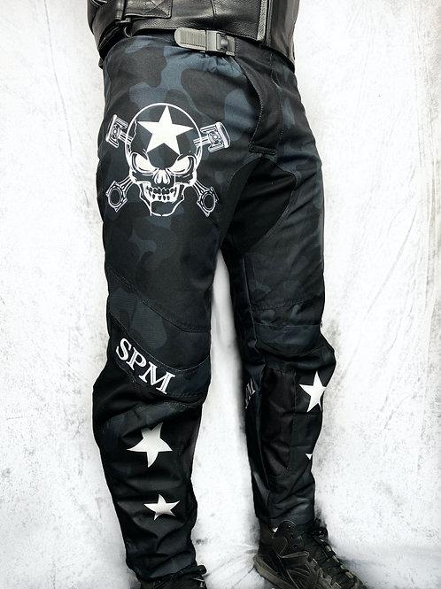 Pantalon Cross SPM Camouflage noir