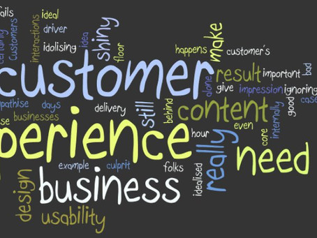 Delivering a great Customer Experience, yes … but get the basics right first !