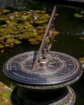 "12"" Bronze Sundial"