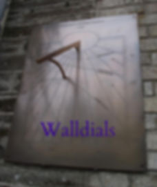 Bronze walldial
