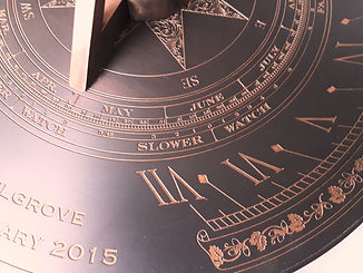Sundial Equation of time