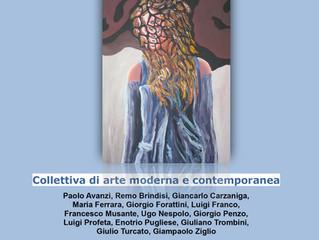 """Collettiva """"L'evoluzione della figura"""" alla Country House Gallery"""
