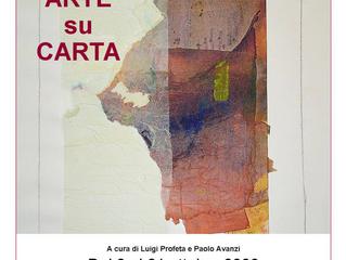 """Mostra collettiva """"ARTE su CARTA"""" al Centro Culturale di Cormano."""