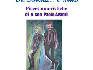 """""""Da donna a uomo"""" pieces umoristiche di Paolo Avanzi"""