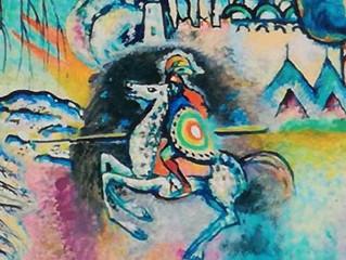 Kandinskij, il cavaliere errante. In mostra al Mudecdi Milano fino al 9 luglio 2017.