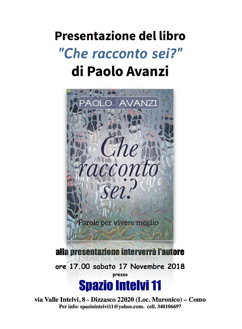 Che racconto sei? Paolo Avanzi