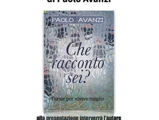 """Paolo Avanzi presenta allo Spazio Intelvi """"Che racconto sei?"""""""