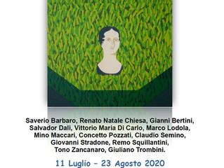 """Collettiva """"Figure femminili"""" allo Spazio Intelvi 11 di Dizzasco (Como)"""