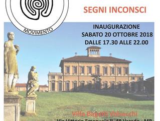 Mostra del Movimento Psicoavanguardia  alla Villa Bagatti Valsecchi di Varedo (Monza).