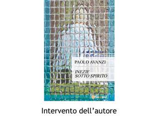 """Presentazione della raccolta """"Inezie sotto spirito"""" allo Spazio Intelvi di Dizzasco (Como)"""