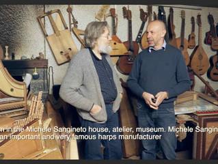 Intervista a Michele Sangineto, famoso costruttore di arpe antiche (Michele Sangineto interview)