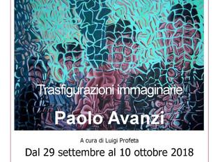 Mostra personale di Paolo Avanzi al Centro Cult. Click Art di Cormano
