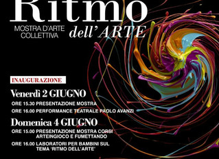 Ritmo dell'Arte. Mostra collettiva alla Villa Sartirana di Giussano dal 2 all'11 Giugno.