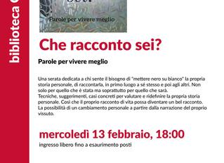 """""""Che racconto sei? """" alla Biblioteca Gallaratese di Milano."""