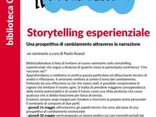 Nota sull'incontro di storytelling (il cambiamento esistenziale)