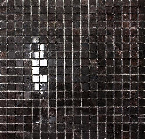 Spectrolite granite polished mosaic