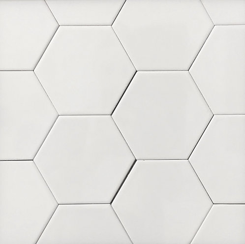 Hexagon White Brillo