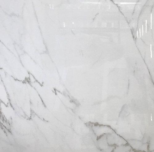 Italian Carrara White Polished 48x48