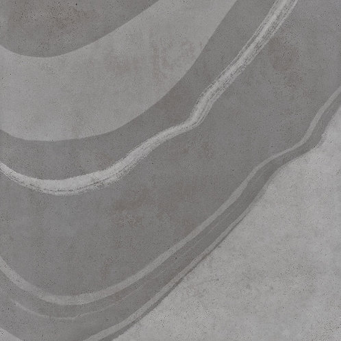 A porcelain tile that looks like cement, with swirls of colour this dynamic tile can be installled on floors and walls