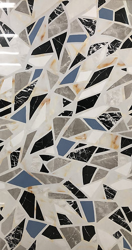 A beautiful decorative porcelain tile by Valentino, the haute couture of tiles