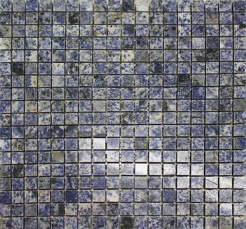 Blue Mosaic polished stone tile, Azul Bahia is a natural granite.  Perfect for floors or walls