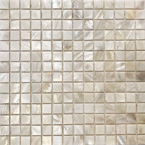 Mother of Pearl White Square