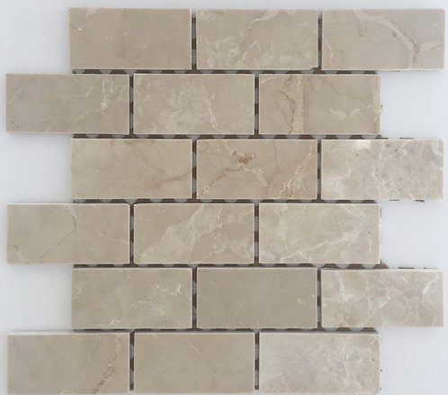 Botticino Brick Joint Polished 2x4 is a great kitchen backsplash tile