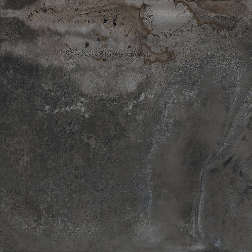 A big porcelain tile that has the feel and look of corroded metal