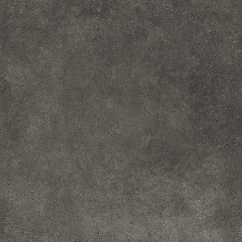 A durable, porcelain tile for floors and walls with a mottled concrete look
