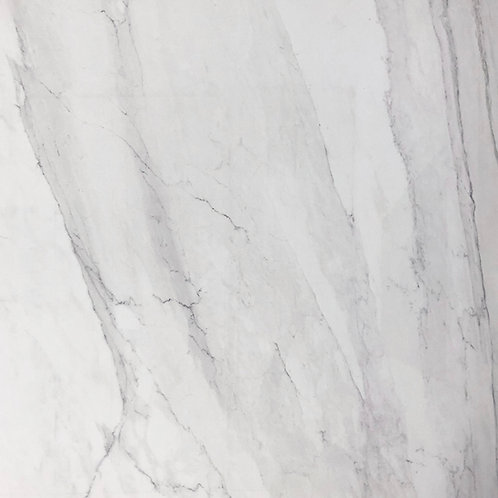 Passion Bianco is a beautiful, large porcelain tile that looks like marble stone tile