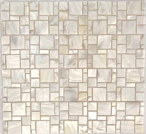 Mother of Pearl mosaic in a beautiful French Pattern