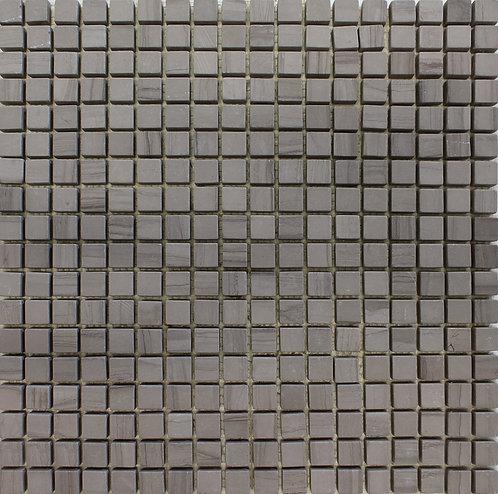 Guizhou Timer Dark mosaic limestone with a tumbled finish