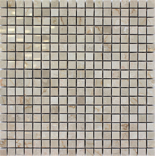 Botticino 5/8 X 5/8 Polished Mosaic