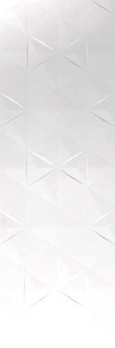 Drawing inspiration from the fragmented pattern of hexagon and triangle mosaics, Matt White Diamond is contemporaryn