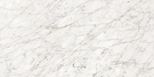 Valentino Marble White Alps is a porcelain tile reminiscent of the white marble quarried from the Alps