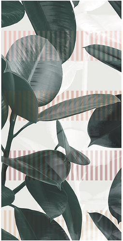 Add the impact and elegance of the rubber plant to your space with PAPIER41 OLIVIA 20x40.
