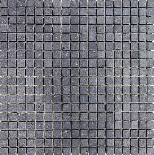 Basalto 5/8X5/8 Tumbled Mosaic
