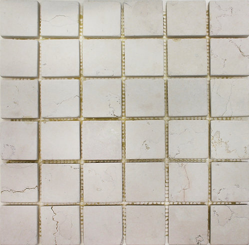 Bianco Perlino 2X2 Tumbled Marble