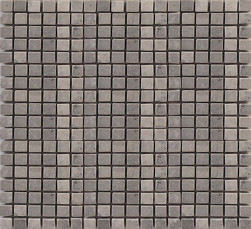 Temple Grey tumbled marble mosaics