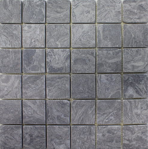 Bianco Feather 2X2 Tumbled Marble