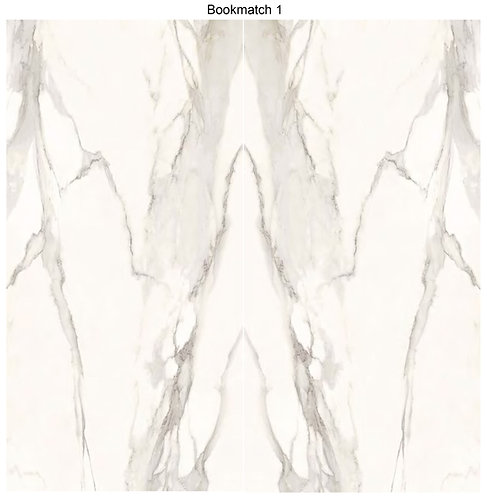 SLAB ELEGANT POLISHED 63x126 (6mm thick) offers a softer take on white marble with grey veining. A great choice for bathrooms
