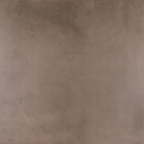 Rich, warm and minimal, BELLO SUPERQUADRA CONHAQUE MATTE 48x48 is an inviting take on industrial style