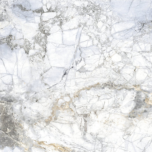 the 4D TRANSCENDENT WHITE 40x40 is a chic and distinctive alternative to traditional marbles