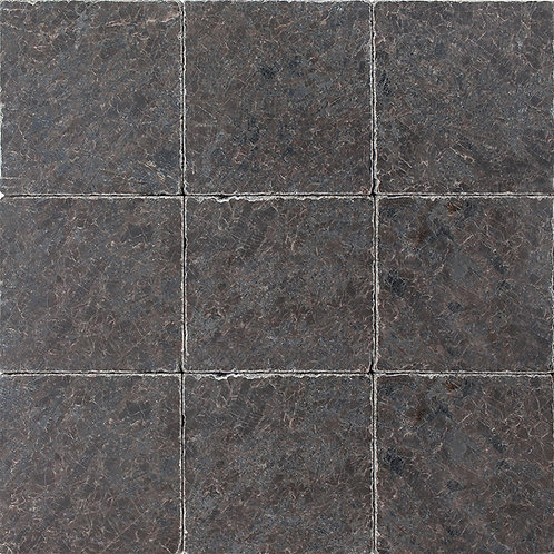 Spectrolite Brown Tumbled 4x4 granite - one square foot