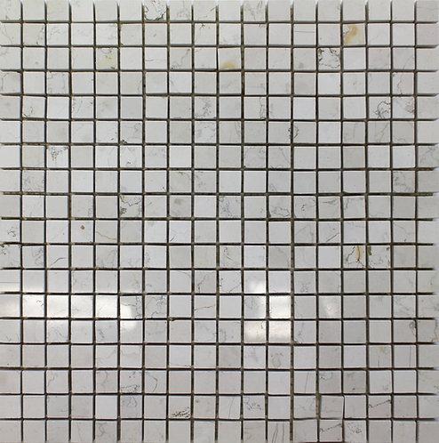 Bianco Perlino 5/8 X 5/8 Polished Mosaic