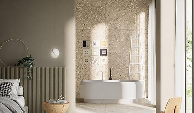 HSV 10 Terrazzo Stone Bianco