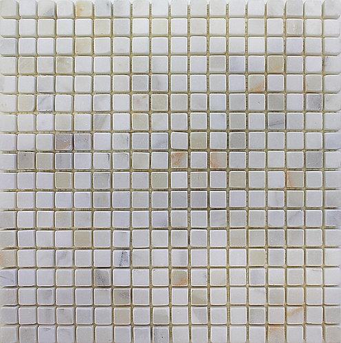 Calacatta 5/8 X 5/8 Tumbled Marble