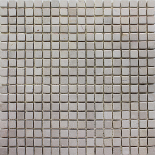 Botticino 5/8 X 5/8 Tumbled Mosaic